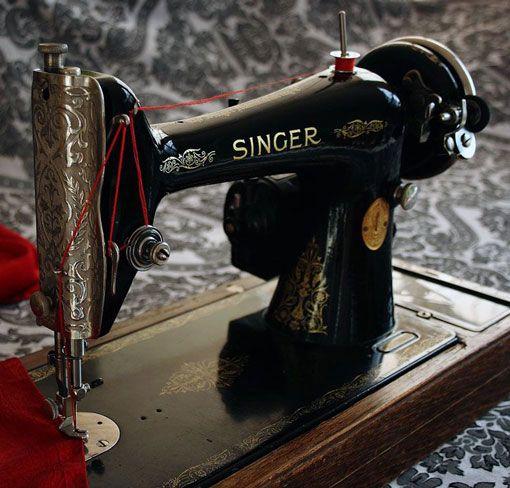 Reparación de máquinas de coser antiguas