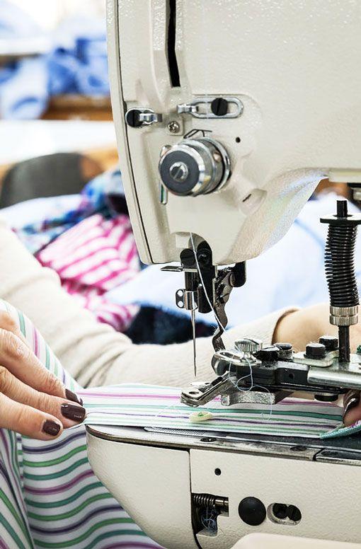 Reparación de máquinas de coser industriales
