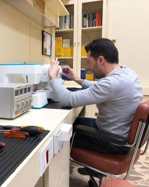 Reparación de máquinas de coser domesticas