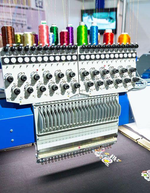 Taller de máquinas de coser en Madrid